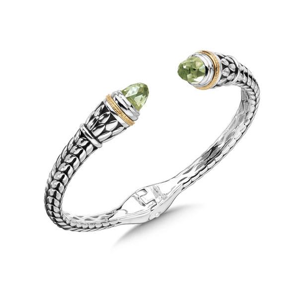 Bangle Bracelet Mounting For Gemstone Caps Not Included