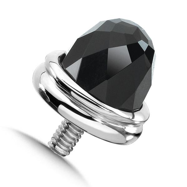 Large Onyx Single Bracelet Cap