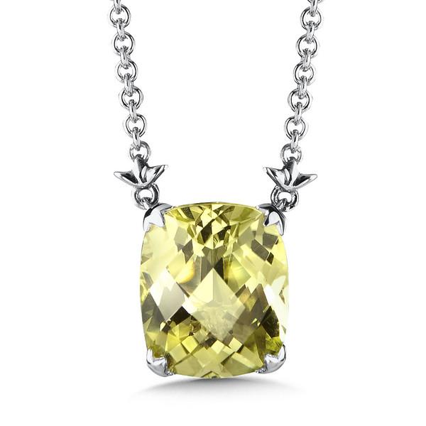 Shop by designer colore sg lemon quartz pendant in sterling silver lemon quartz pendant in sterling silver mozeypictures Images