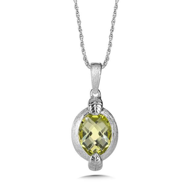 Shop by designer colore sg green gold lemon quartz pendant in green gold lemon quartz pendant in sterling silver mozeypictures Images