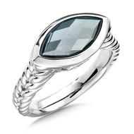 Hematite Ring in Sterling Silver